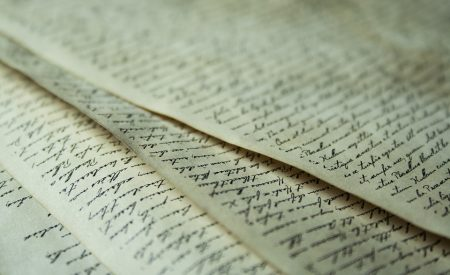 Breton Quote, amazingly beautiful handwritten letters and calligraphy