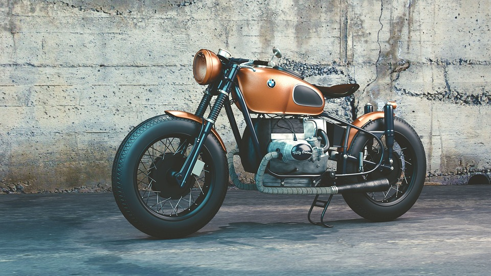 Pausch Quote, very cool modified BMW motorcycle